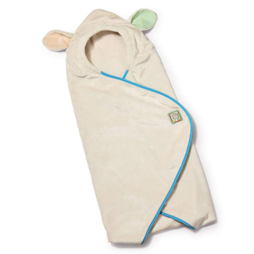 My First NICI - Baby Hooded Blanket Plush - Lamb