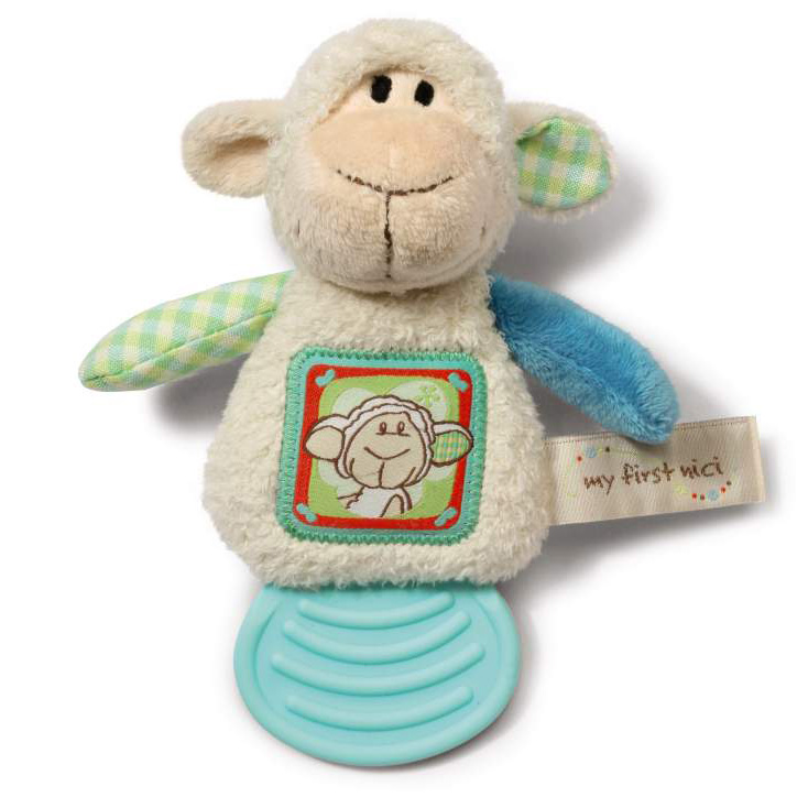 My First NICI - Teether - Lamb
