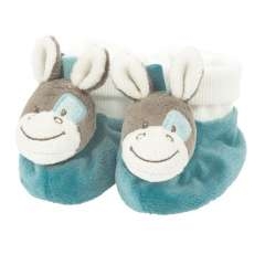Baby-Socken Mit Rassel - Gaston & Cyril - Pferd Gaston