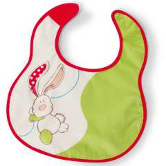 My First NICI - 2 Piece Bib Set Plush/Polyester - Rabbit
